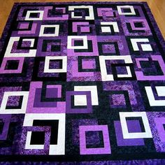 Learn to Make Tie Quilt Free Pattern - I Love Patchwork
