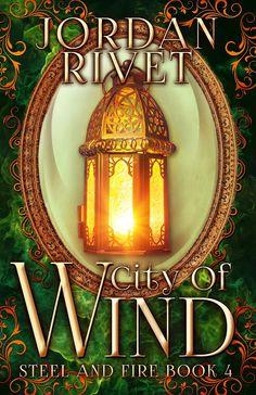 Cover Reveal - City of Wind by Jordan Rivet