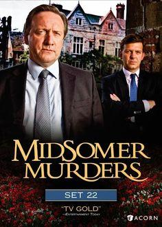 British Detective Drama Series Midsomer Murders - Set 22 now on DVD #BritishTV