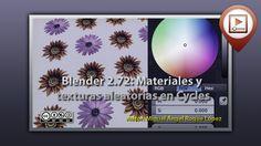 Blender 2.72; Materiales y texturas aleatorias en Cycles