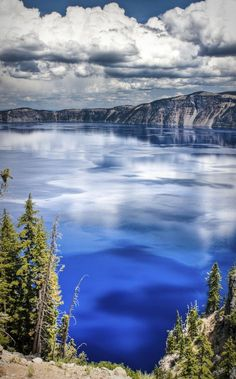 Crater Lake, Oregon - this National Park is one of the country's crown jewels. No place else on earth combines a deep pure lake, so blue in color; sheer surrounding cliffs, almost 2,000 feet high; a picturesque island & a violent volcanic past. Unfortunately, one of the driest years in history has reduced water flow in streams and rivers across the Upper Klamath Basin, including Crater Lake and the surrounding region. 10 Place to see Before They're Gone.