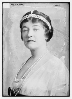 Mrs. W.R. Hearst (LOC) by The Library of Congress, via Flickr