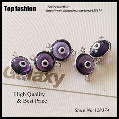 Aliexpress.com: Comprar G 034 único amatista Evil Eye Beads piedra, Crystal Color púrpura ágata forma de los ojos 10 X 10 MM Beads Finding encanto de cuentas de ónix fiable proveedores en Top fashion jewelry 128374