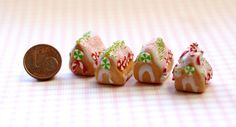 Christmas. Christmas sweets. Miniature sweets. by Irinaminiatures