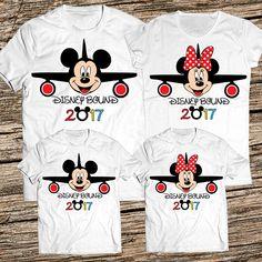 Disney Bound Shirt Disney Family Shirts Mickey and Minnie