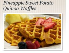 On The Menu: Pineapple Need a little something sweet? Think outside the box for a sweetener!