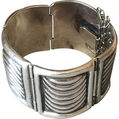 Fred Davis Sterling Silver Bracelet