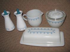 Corelle \ Snowflake Blue\  Dinnerware Set | cedar run vintage | Pinterest | Dinnerware Pyrex and White dishes & Corelle \