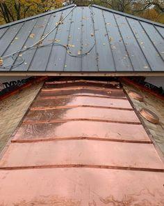 Cedar Roof, Copper Work, Ontario, Metal, Beautiful, Instagram, Copper Roof, Metals