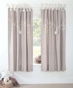 Millie & Boris - Lined Tie Top Curtains - 132 x 160cm - Curtains & Tie Backs - Mamas & Papas
