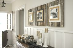 WTC 6-219 Beach Frames: Reclaimed wood extra large frames made in the USA.