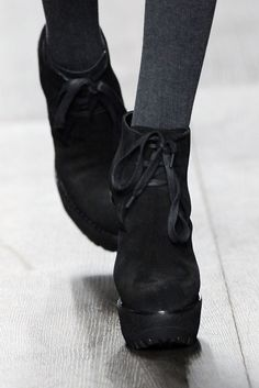 Suede shoe boots