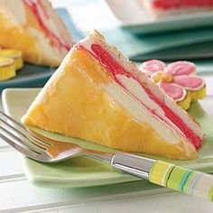 Dessert Recipes - Orange-Raspberry Dreamsicle Cake Recipe at WomansDay.com - Womans Day       .           http://www.womansday.com/recipefinder/orange-raspberry-dreamsicle-cake-121555
