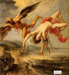 Mitologia Griega: DEDALO E ICARO