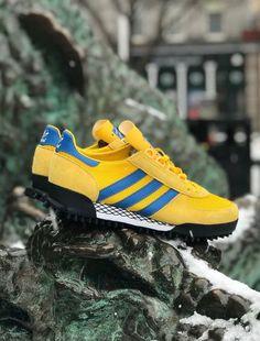 19b04315d234 Size  x adidas Originals Marathon TR Vintage Sneakers