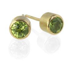 $323.00 Peridot Earrings