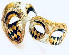 Masquerade Mask Women, Couples Masquerade Mask from USA by HigginsCreek - Mardigras Couples Masquerade Masks, Masquerade Ball, Steampunk Bird, Costume Birthday Parties, Bird Masks, Mardi Gras Costumes, Female Mask, Couple Jewelry, Carnival Masks