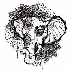 Découvrez ce tatouage temporaire avec un éléphant et un mandala ! À seulement 3,99€, ils resteront sur votre peau entre 3 et 7 jours. Livraison gratuite en 48h