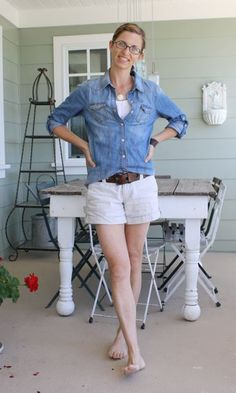 Cute casual by Lindsey at Pleated Poppy