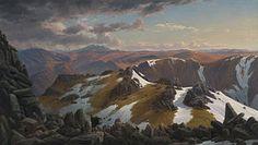 Monte Townsend Eugene von Guerard 1863