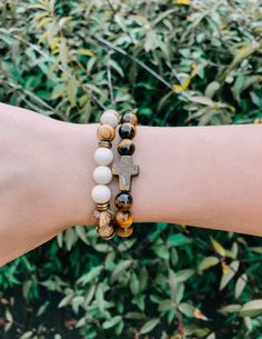 The tiger eye bracelet represents what Jesus went through to save us from sin. The bracelet is made with natural tiger eye stone. Elevate your faith with our men's and women's Christian bracelets today! Christian Bracelets, Christian Jewelry, Christian Clothing, Christian Charities, Christian Organizations, Convoy Of Hope, Tiger Eye Bracelet, Eye Stone, Walk By Faith