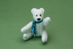 Make A Miniature Stuffed Polar Bear From Felt  - Sew Churchill the Polar Bear: Make Churchill the Miniature Stuffed Felt Polar Bear