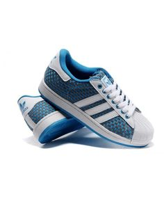 online store 356ca 0800b Fashion Adidas Superstar Mens Blue Cheap Sneakers T-1075