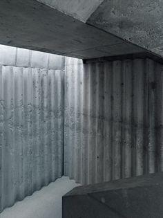 Wall - Project by BUNQ Architectes. Photography © Thomas Jantscher.