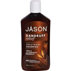 Jason Dandruff Relief Shampoo - 12 fl oz - Jason Dandruff Relief Shampoo Description:    NEW LOOK / Same Great Formula  Fortified with MSM Olive Rosemary Oils and Colloidal Sulfur  Treats and Controls Dandruff  No Parabens SLS or Phthalates This laboratory-tested gentle cleanser stops dandruff while controlling scalp dermatitis and mild psoriasis. Featuring the unique combination of FDA compliant dandruff-control ingredients plus nourishing essential oils of Rosemary Olive and Jojoba this…