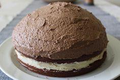 Čoko dort z mandlového těsta