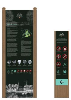 Interpretive-and-information signs-Stichting-Lynden-Ter-Hooge-Signage-wayfinding