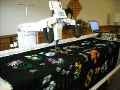 Fast LONG ARM QUILTING -COMPUTERIZED EDGE TO EDGE--FOR YOUR QUILT-deposit ONLY