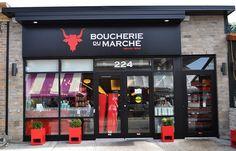 Butcher Shop, Boutique, Backgrounds, Fish, Meat, Business, Shopping, Retail, Tents