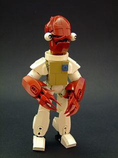 """Admiral Ackbar"" by Djokson: Pimped from Flickr"