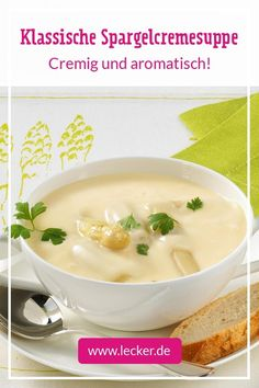 Classic cream of asparagus soup Slow Cooker Recipes, Beef Recipes, Lasagna Recipe With Ricotta, Lasagna Soup, Cravings, Food And Drink, Easy Meals, Dinner, Cooking