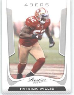 2011 Panini Prestige #170 Patrick Willis - San Francisco 49ers (Football Cards) by Panini Prestige. $0.88. 2011 Panini Prestige #170 Patrick Willis - San Francisco 49ers (Football Cards)