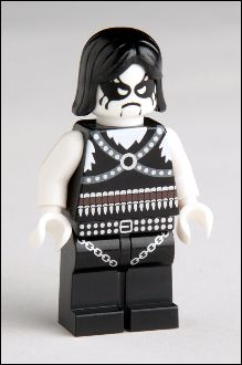 Norwegian Black Metal Minifigs  Hell yeah!