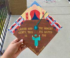The Greatest Showman: Graduation Edition 2018 Disney Graduation Cap, Funny Graduation Caps, Graduation Cap Designs, Graduation Cap Decoration, Graduation Diy, Nursing Graduation, High School Graduation, Graduate School, Graduation Parties
