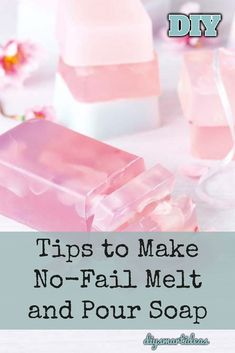 Most valuable tips for beginners to make melt and pour soap without fail. Click the image to view more detail Handmade Soap Recipes, Soap Making Recipes, Handmade Soaps, Diy Soaps, Homemade Soap Bars, Soap Melt And Pour, Whipped Soap, Best Soap, Soap Base