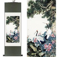 Znalezione obrazy dla zapytania zuraw japan painting