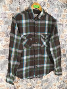 Excited to share this item from my #etsy shop: Arizona Flannel Checkered Green Shirt Small Vintage Flanne Plaid Checkered Multicolour Indie Boho Oxfords Shirt Size S #womenflannelshirt #90shipsterflannel #weddingflannel #vintageflannel #casualflannelmens #brideflannel #flannelcheckered #multicolorflannel #menflannelshirt