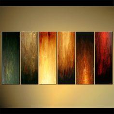 "Original Abstract Painting 72"" x 36"" ORIGINAL Acrylic Painting Interaction Ready…"