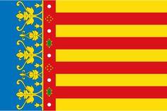 Flag of the Valencian Community (2x3).svg