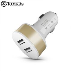 Dedicated Car Charger Abs Casing Single Usb Ports 2a With Blue Light Max Charging Universal Car Charger With Bowling Shape Automobiles & Motorcycles