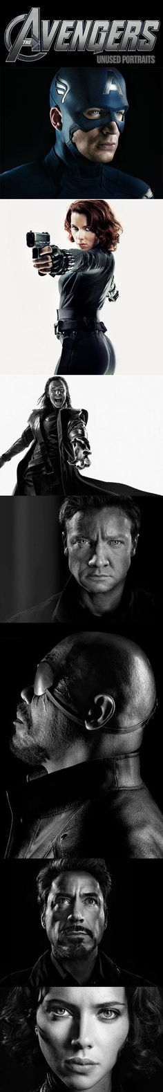 Awesome Unused Portraits From The Avengers // funny pictures - funny photos - funny images - funny pics - funny quotes - #lol #humor #funnypictures
