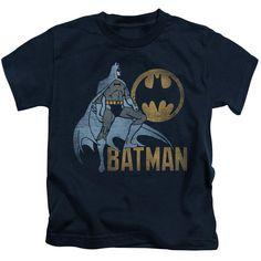 Batman - Knight Watch Short Sleeve Juvenile 18/1