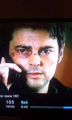 Karl Urban is in the movie I'm watching and I freaked out because I know he's Lauren Tinney's live interest XD