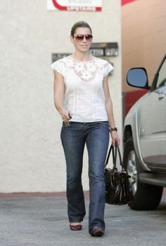 Jessica Biel in Los Angeles