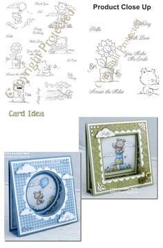 SET 31 - Summer Bears Companion Stamps