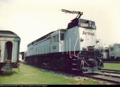 Amtrak G. In 1986 Amtrak purchased eight ( to from NJ Transit for work train service but were never used. Work Train, Train Car, Train Tracks, Auto Train, Electric Locomotive, Diesel Locomotive, Strasburg Railroad, High Speed Rail, Railroad Photography